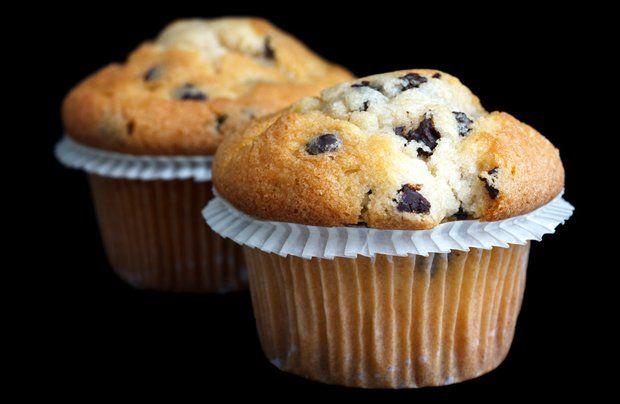 Muffins mit Schokostückchen #donutcake