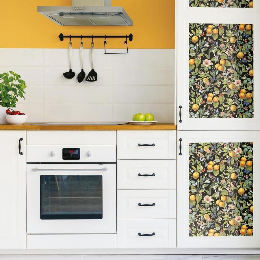 Citrus Peel And Stick Wallpaper Kitchen Wallpaper Peel And Stick Wallpaper Kitchen