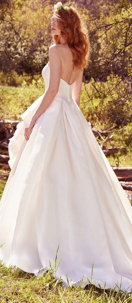 9fb37aabeac The Ultimate Guide to Wedding Gowns for Curvy Brides from Whitney of  CurveGenius - Try the Bianca Marie wedding dress by Maggie Sottero if  you re a tall and ...