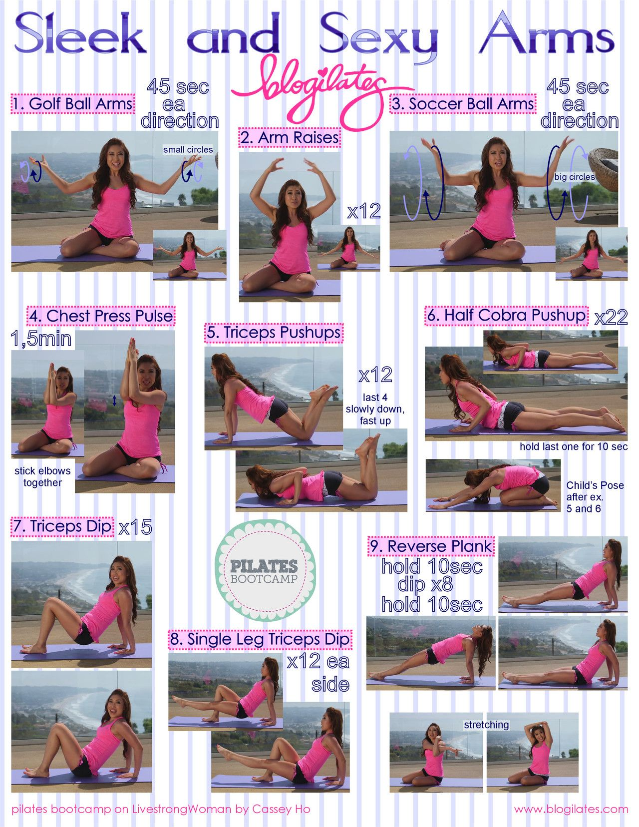 10 workout videos you u0027ll want to do again and again arm workout