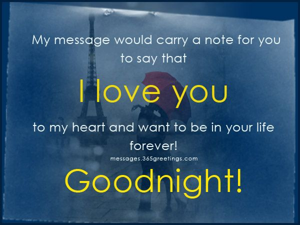 Superb Romantic Goodnight Messages   Messages, Wordings And Gift Ideas