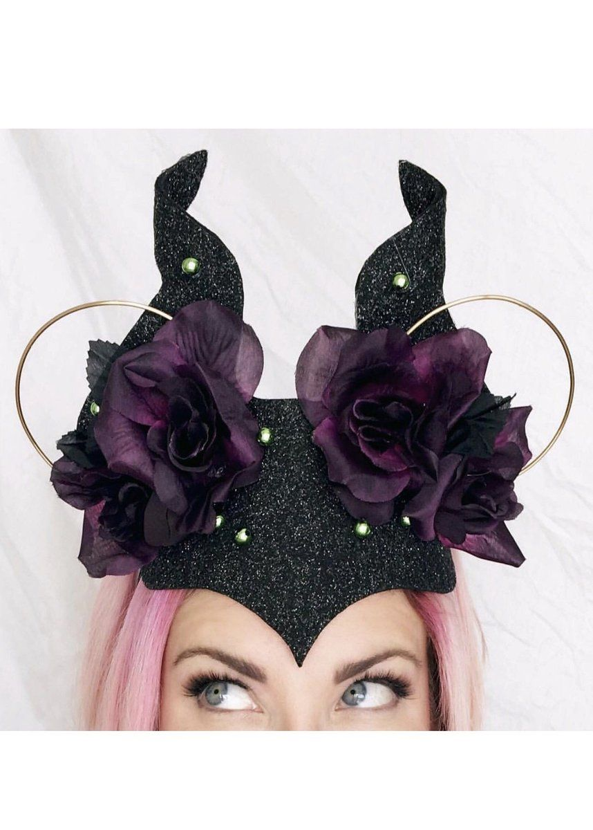 Horned Evil Queen Mouse Ears #craftsaleitems