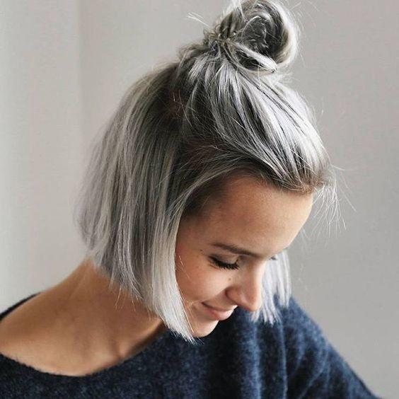 peinados muy fciles de hacer para melenas cortas y medias prubalos todos - Melenas Cortas