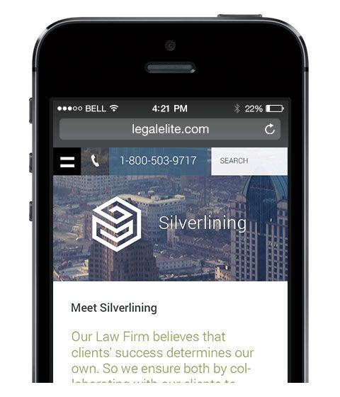 Mobile Version By LegalElite « Custom Website Designs For