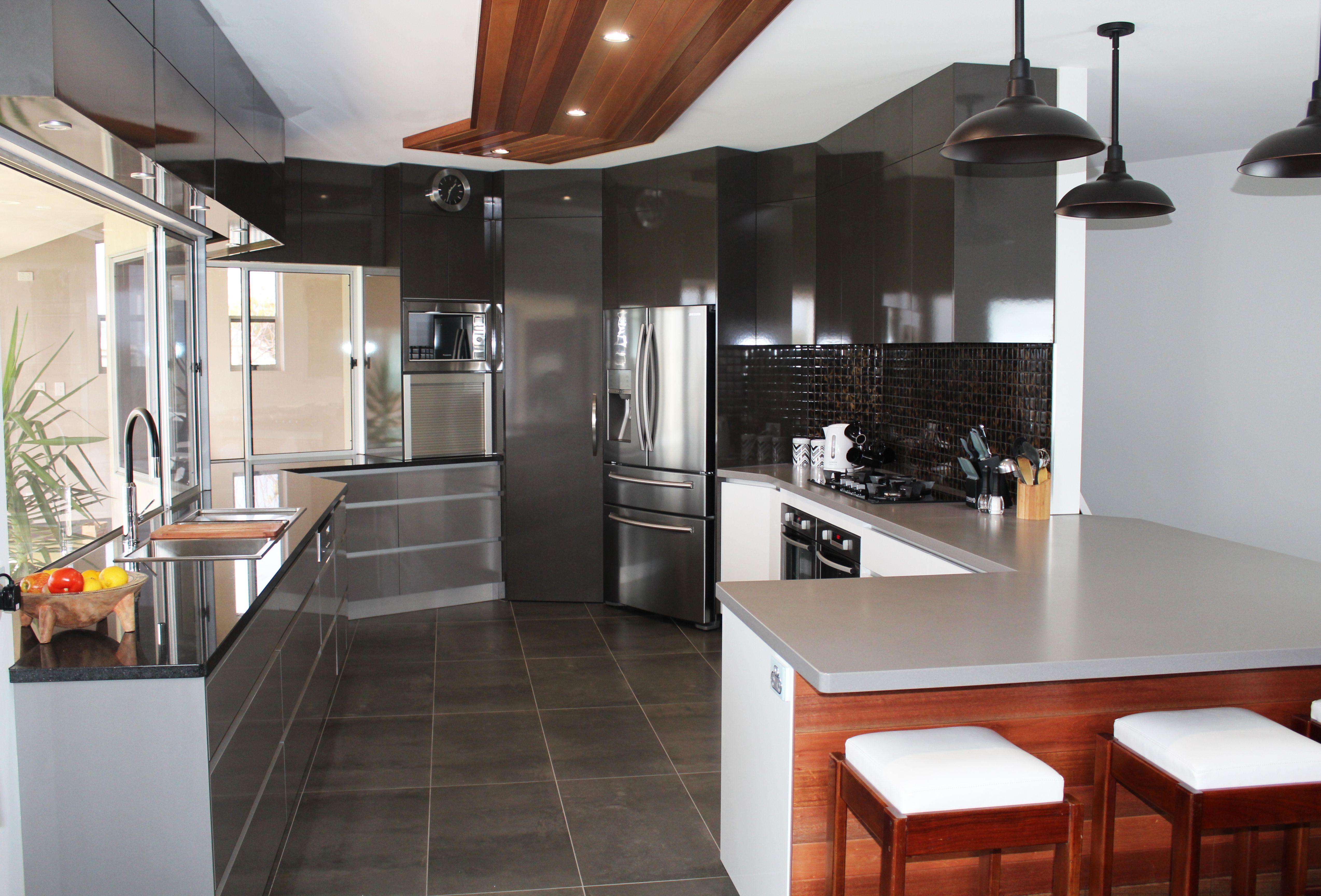 Cheap kitchen cabinets adelaide - Benchtops Adelaide Marble Black Granite Caesarstone Sleek Concrete Panels