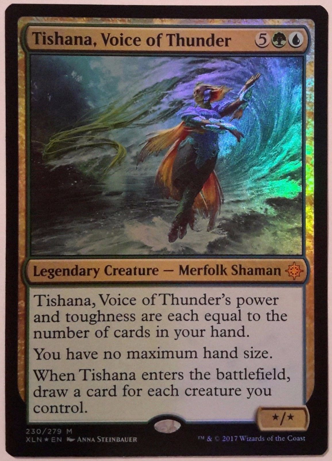Voice of Thunder Foil Ixalan English Foil Tishana 1x NM-Mint