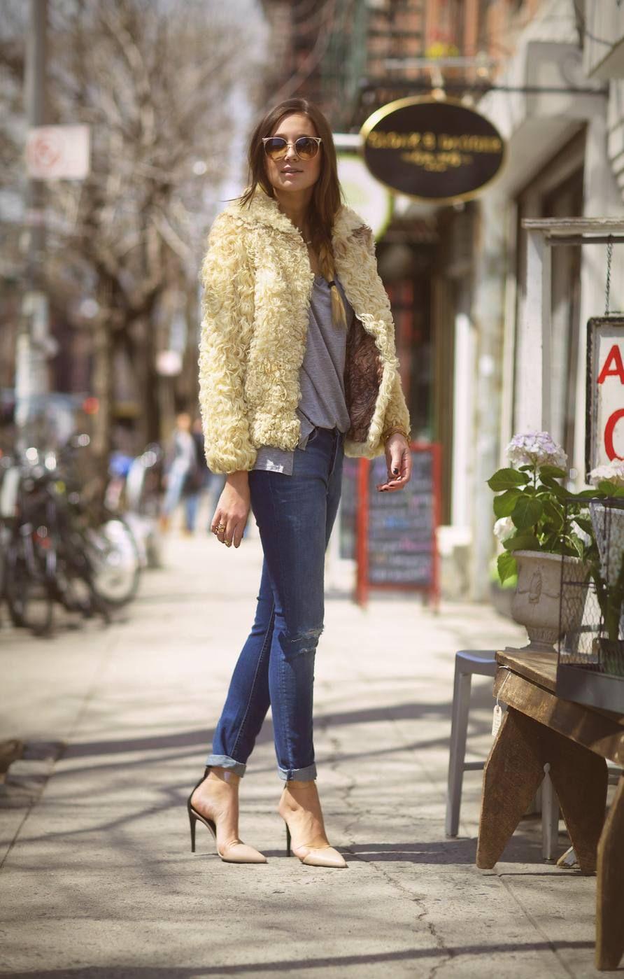 Cloak  #Jeans #Fur Real Faux #Coats #Sunglasses