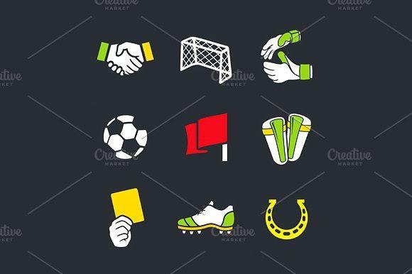 Soccer . Sport Icons. $3.00