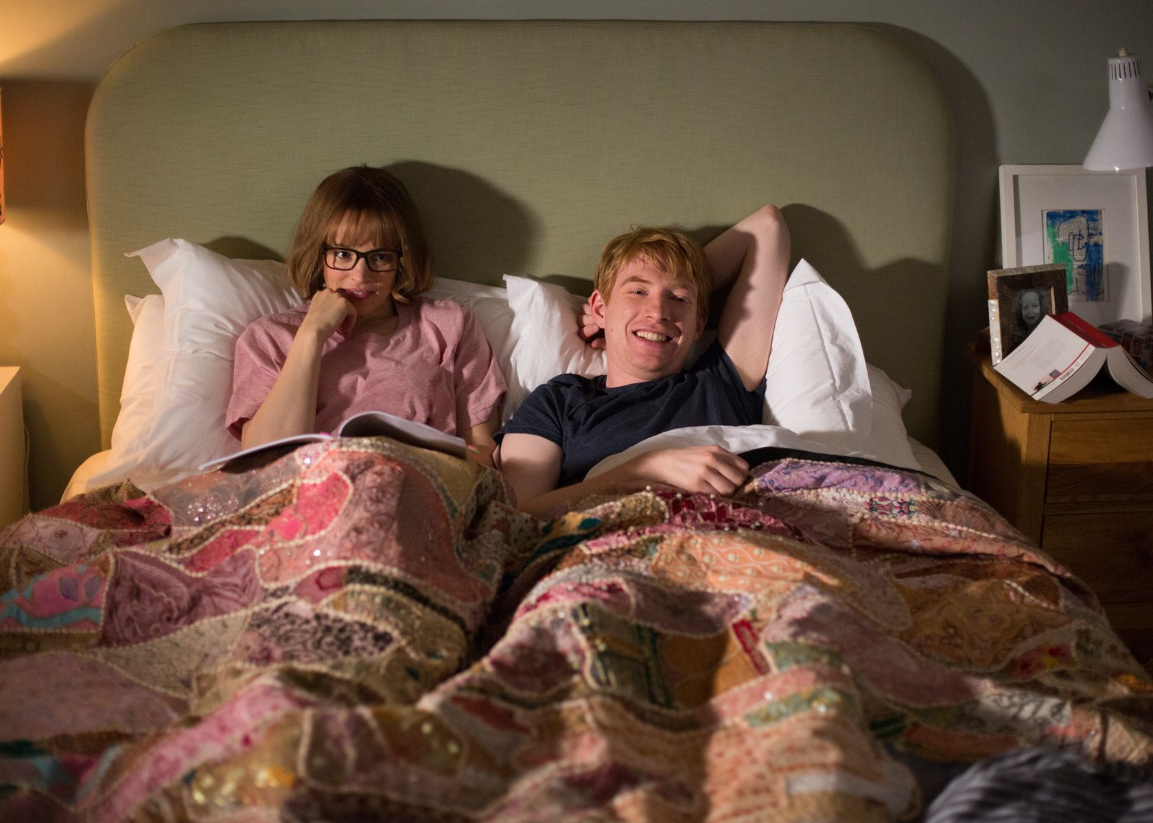 Rachel McAdams and Domhnall Gleeson | About time movie ...