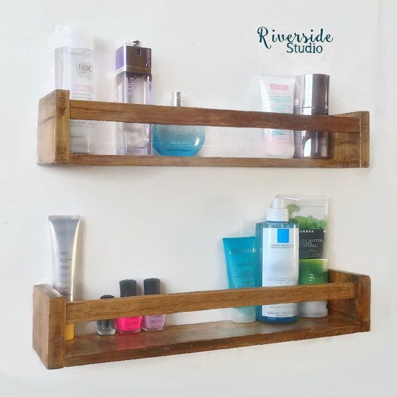 Free Shipping / Modern Rustic Floating Shelf, Bathroom Shelves, Gallery  Shelves, Entryway Shelf / Pallet Furniture / PICK YOUR COLOR
