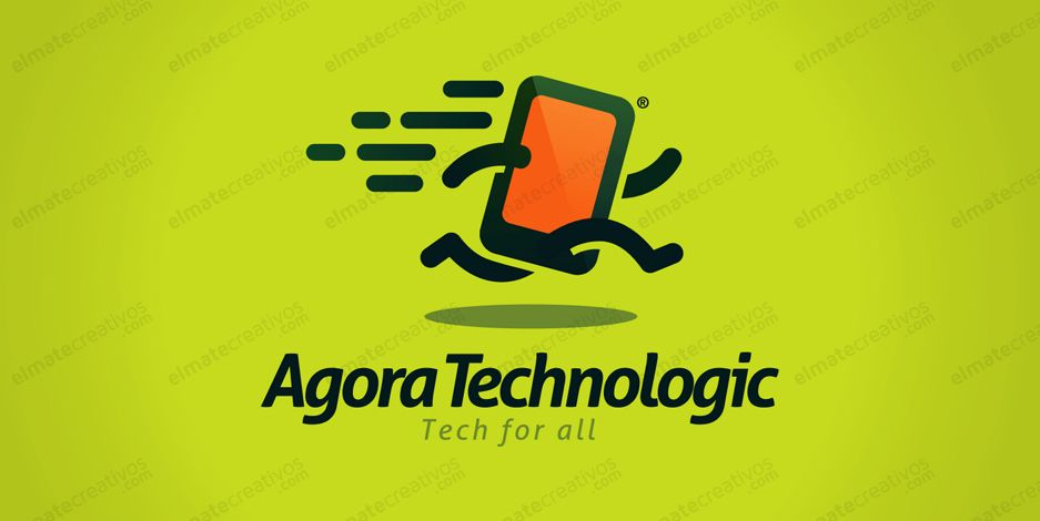Diseno De Logo Para Pagina Dedicada Al Mercado Tecnologico O