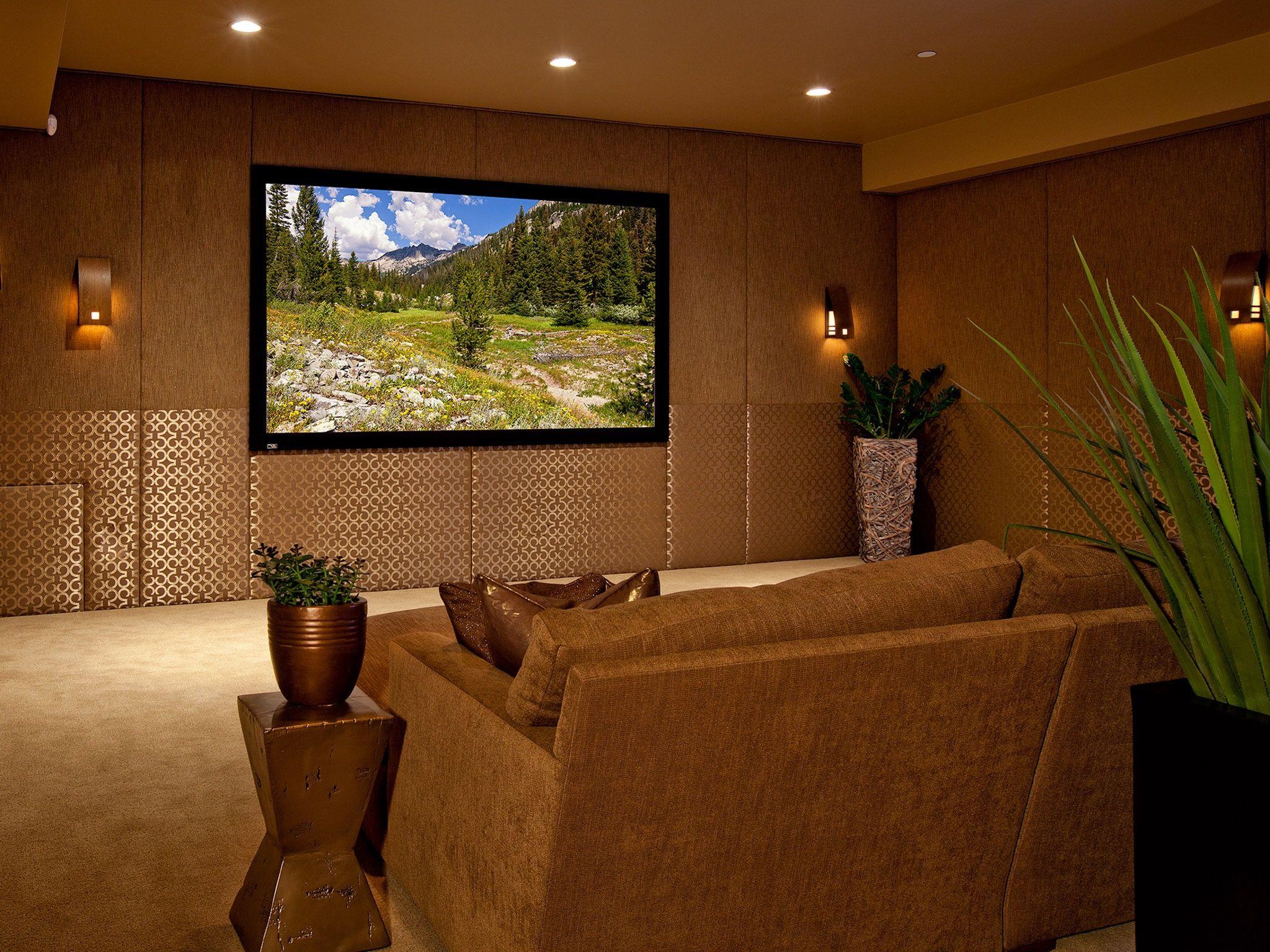 Entertainment Zimmer Dekor und Einrichtung für die Neue Heimat ...