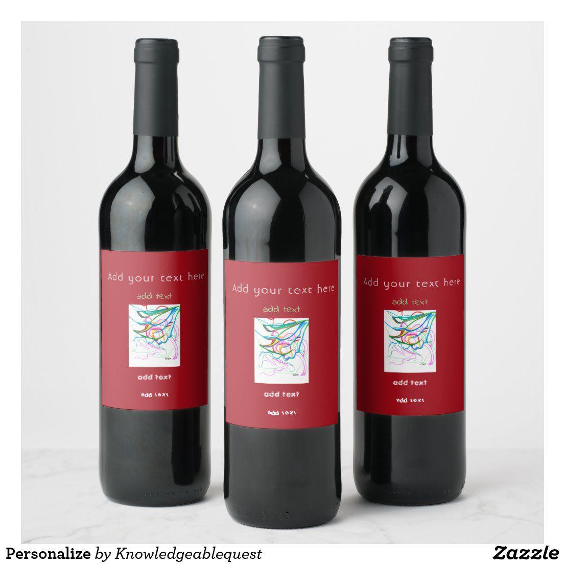Personalize Wine Label Personalized Wine Labels Personalized Wine Champagne Bottle Labels
