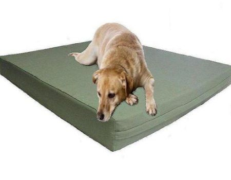 Amazon Com Xxl Extra Large Waterproof 55 X37 X4 Orthopedic Memory Foam Pad Pet Dog Bed With Tough External Canvas Co Dog Pet Beds Memory Foam Dog Bed Dog Bed
