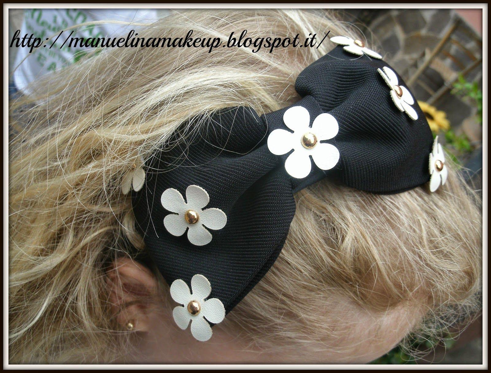 Graceful Hair Band Full Mini Daisy Bow Design Headband 13117