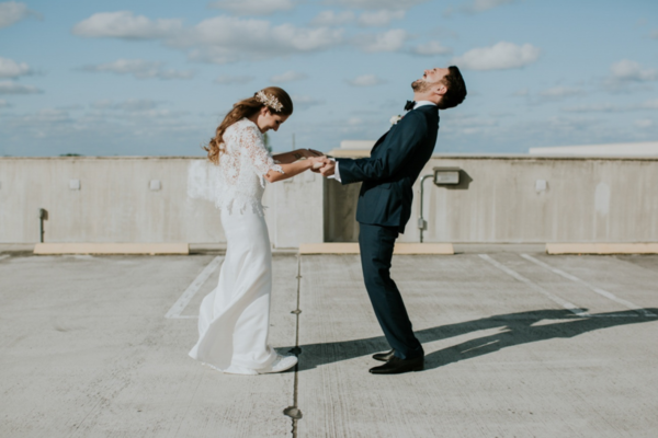 These 25 Wedding Photos Are In A League Of Their Own