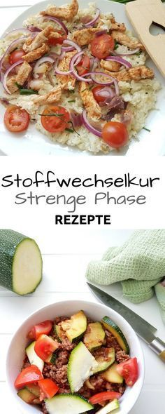 Rezepte – strenge Phase/Low Carb –