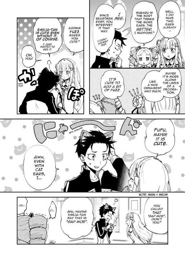 Subaru Is Seriously a Kitten Comic Imgur Fan comic, H