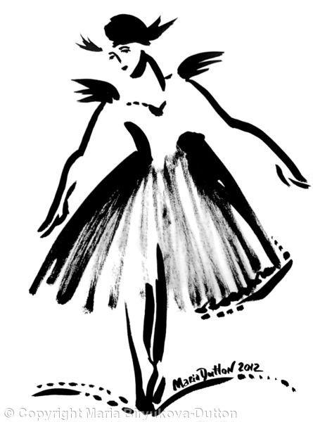 Ballerina's+skirt+Num+3+-+Ink+on+paper