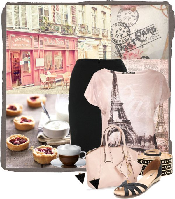 """Paris Morning"" by katc ❤ liked on Polyvore"