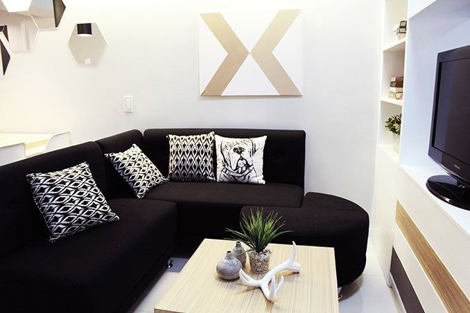 Small Space Ideas For A 34sqm Condo In Makati Condominium Interior Design House And Home Magazine Condo Interior