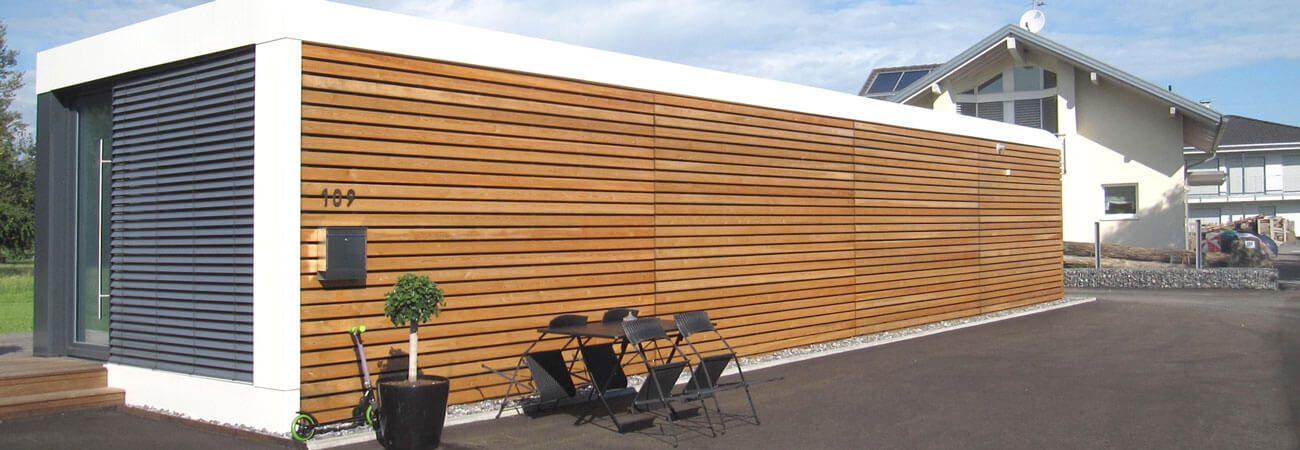 container fertighaus belando von bdenbender hausbau satteldach klassiker satteldach container. Black Bedroom Furniture Sets. Home Design Ideas