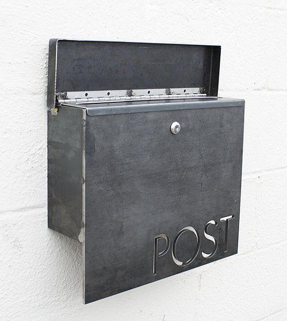 modern mailbox etsy. Plain Mailbox The Gibson Mailbox Classic U0026 Locking By Boldmfg On Etsy To Modern