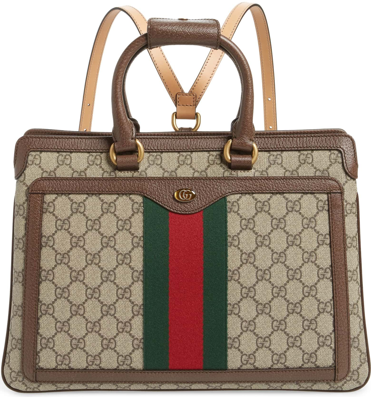 3ccbeb6e15a9 Gucci Ophidia GG Supreme Canvas Convertible Backpack | Nordstrom ...