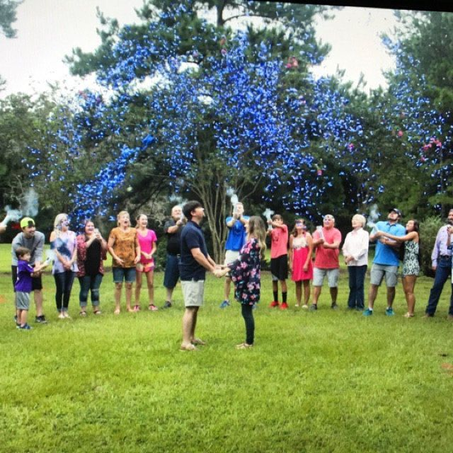 Reveal Group: Use A Cannon That Shoots Colorful Confetti For A Fun