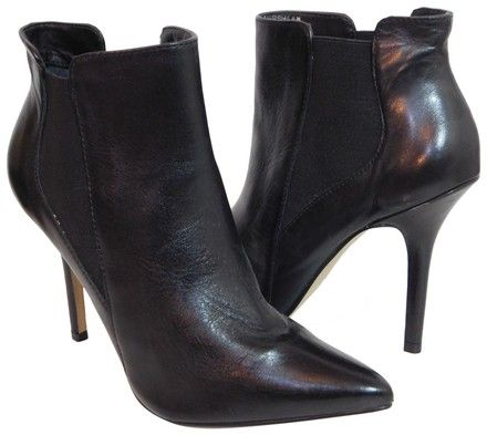 f1c1c86c19e Steven by Steve Madden Black New Pointed Toe Ankle Boots Booties Size US 8.5  Regular (M