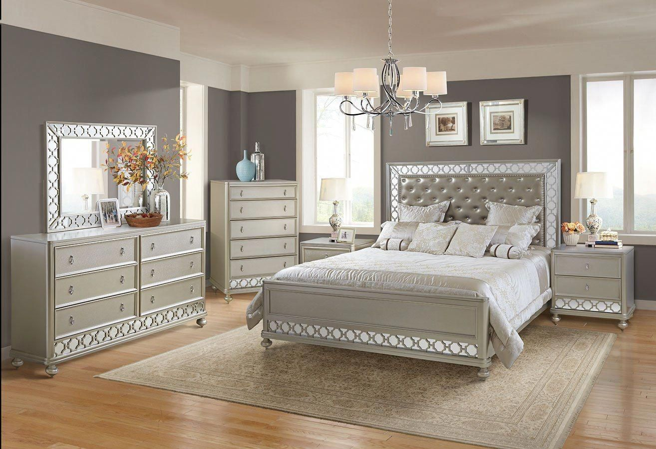 Claire Panel Bedroom Set Bedroom Furniture Sets King Bedroom Sets Classy Bedroom