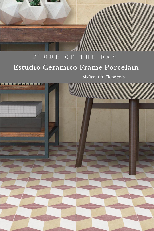 Estudio Ceramico Frame Porcelain Tile Flooroftheday Ihavethisthingwithfloors Floorlove Interiordesignflooring Homedecor In 2020 Ceramic Tiles Flooring Porcelain