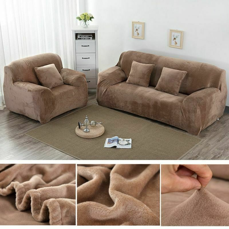 Awesome Universal Sofa Cover Elastic Sectional Couch Anti Dirt Caraccident5 Cool Chair Designs And Ideas Caraccident5Info