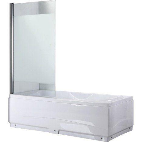 pare baignoire 1 volet verre de s curit 5 mm s rigraphi quadro salle de bain pinterest. Black Bedroom Furniture Sets. Home Design Ideas