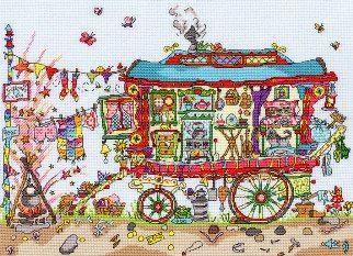 Cut Thru' Gypsy Wagon
