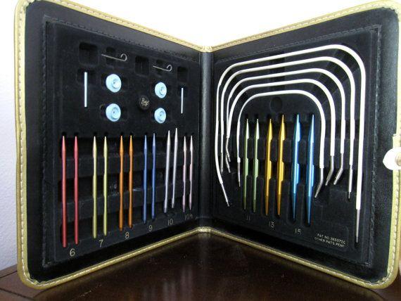 Vintage 1960 Boye Needlemaster Knitting Needles Set by DoVintique, $45.00