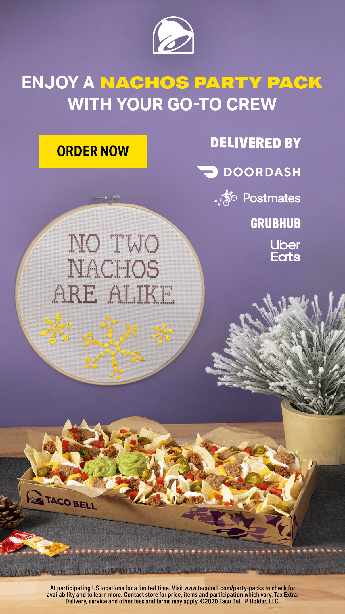 Taco Bell Popular Pays In 2021 Nacho Party Party Packs Taco Bell