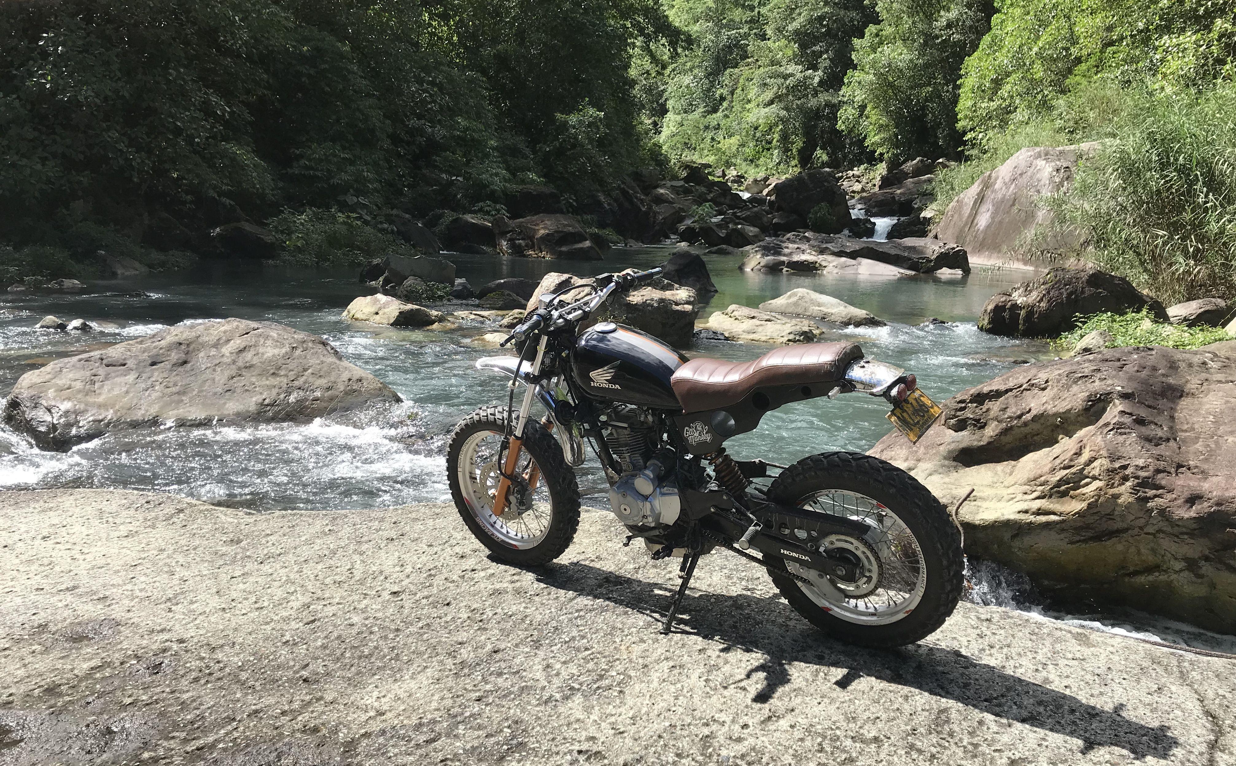 Honda Xlr 125 Scrambler Moto Modificada Motos