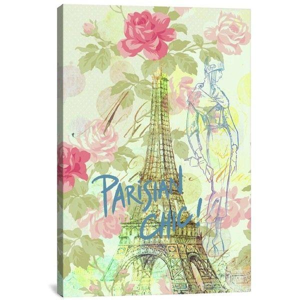 Icanvas \'Parisian Chic - Guy Jinn\' Giclee Print Canvas Art ($100 ...