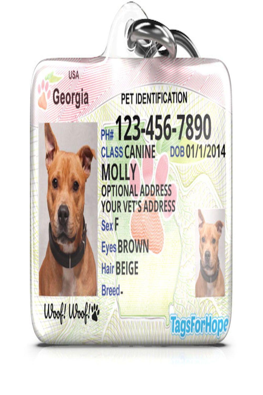 Tagsforhope Pet Id Pet Id Tags Pet Tags