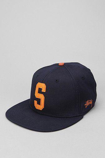 e69af221e48 Stussy Big S Twill Snapback Hat