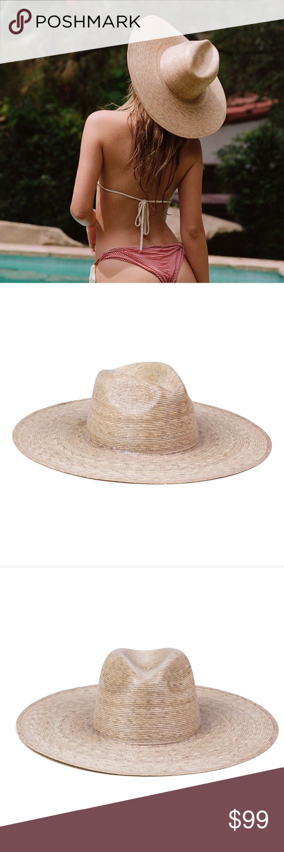 fed0f0c608b50 Lack of Color Palma Wide Fedora Handmade by artisans in Mexico