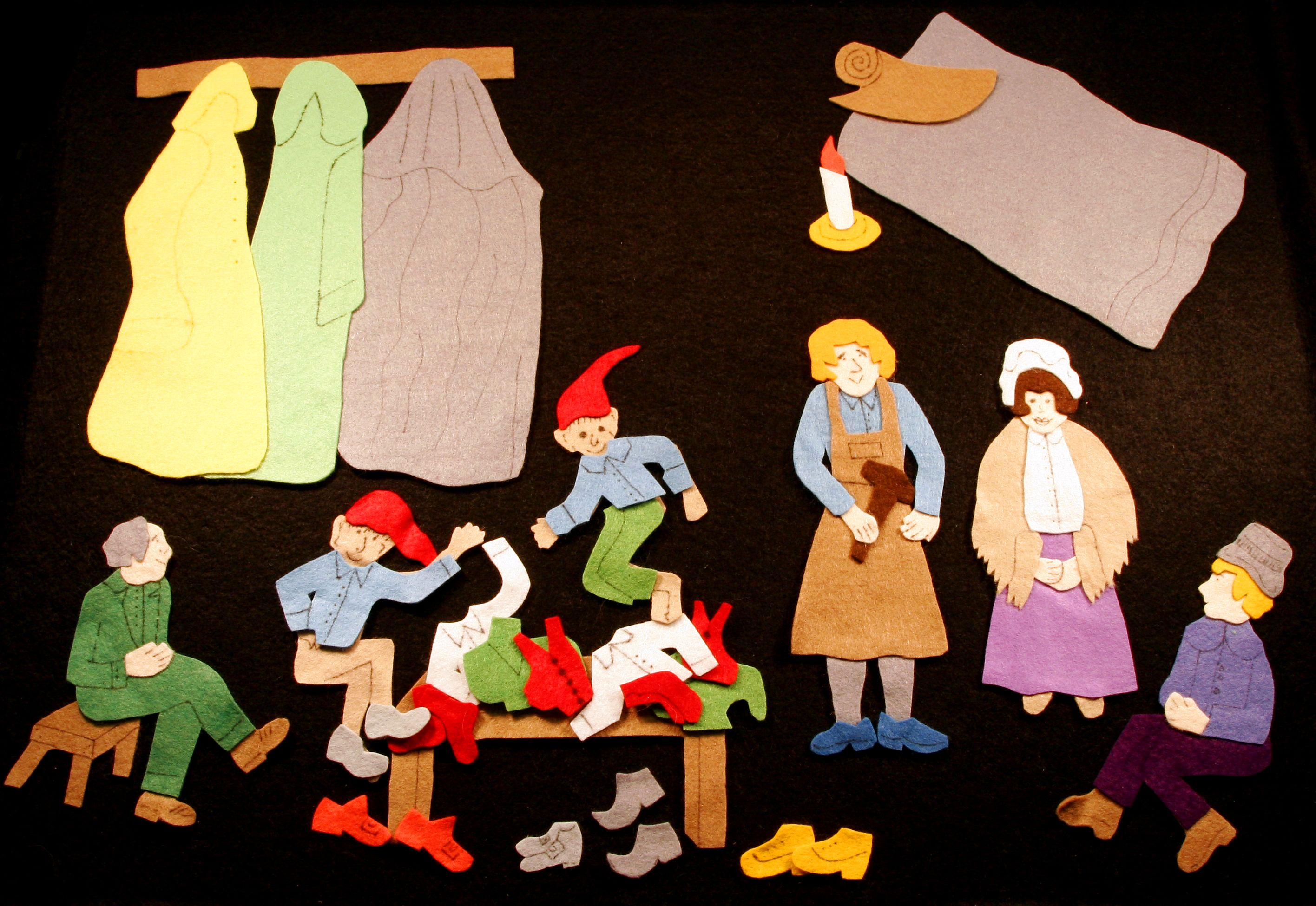 The Elves And The Shoemaker There Once Was A Shoemaker