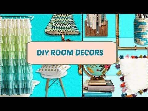 Diy Room Decor Project Ideas You Need To Try diy room decor! 20 diy project ideas you need to try! video