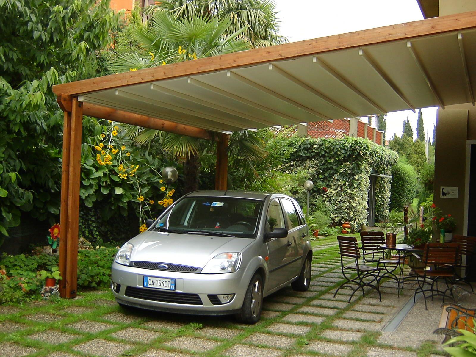 Tettoia e pergola assieme tettoia per auto pinterest for La pergola prezzi
