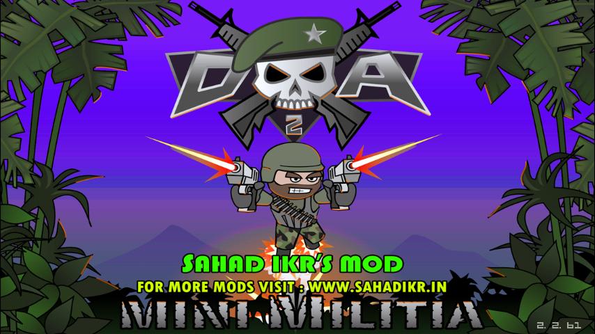 mini militia wall hack apk file download