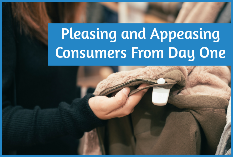 Pleasing And Appeasing Your Consumers From Day One