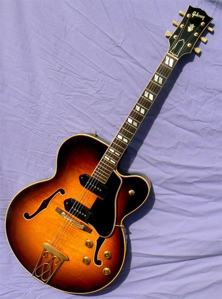 1956 gibson es 350t jazz guitar in 2018 pinterest guitare. Black Bedroom Furniture Sets. Home Design Ideas