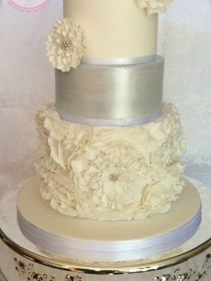 Top Ruffle Cakes