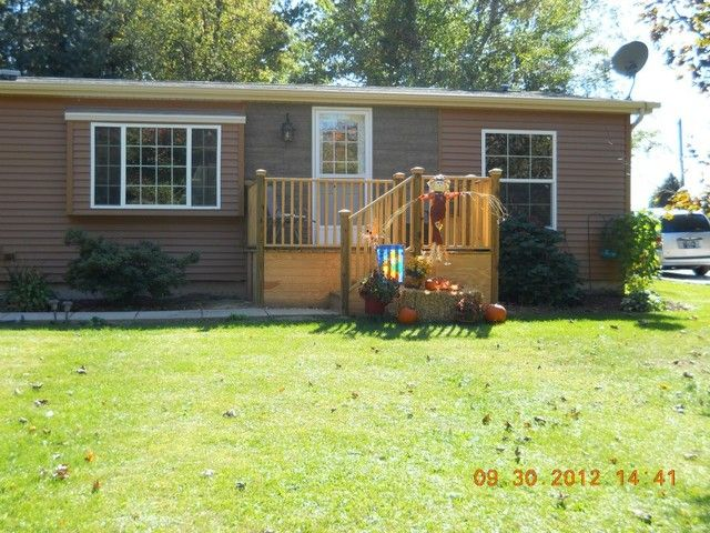 Total Remodel Of Exterior Of Manufactured Home
